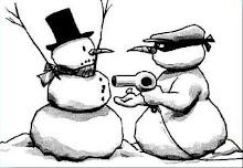 Tra pupazzi di neve