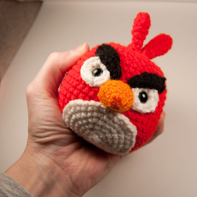 Angry Birds Amigurumi Pattern : Anything Knitted and Crocheted: April 2011
