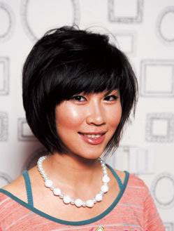 cute bob hair style for teens