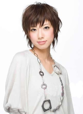 Woman Short Hairstyle
