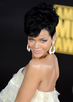 Short hairstyle - Trendy hairstyle from Rihanna