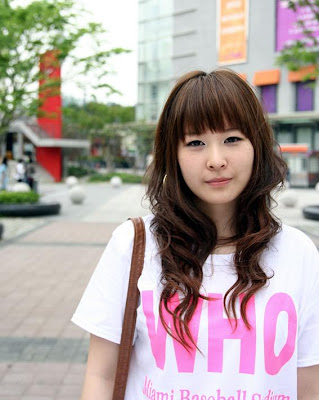 Asian Hairstyle, Long Hairstyle, Emo Hairstyle, Cute Korean Hairstyle, Asian Girl Hairstyle