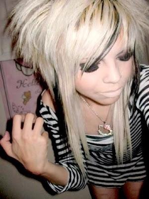 Blonde Emo Hair Colors