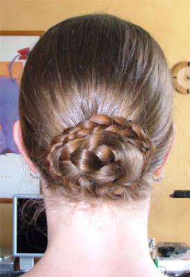 Braided buns for women