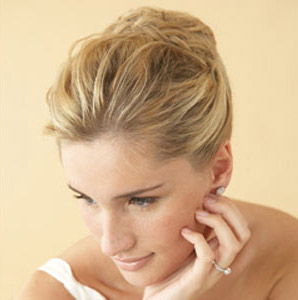 Restores the old the goddess style -wedding updos