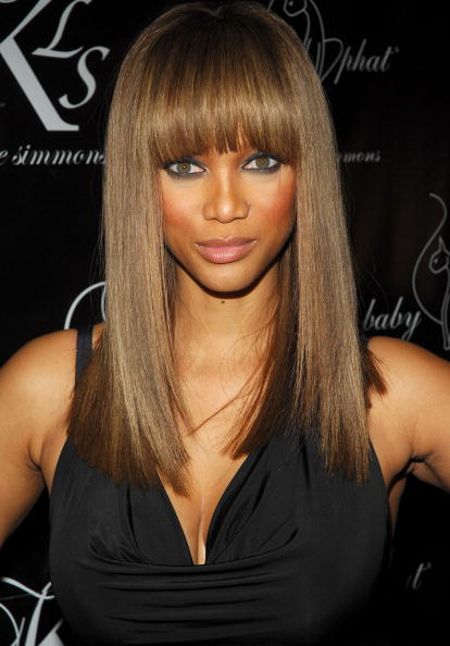 Long sleek hairstyle for women