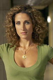 Melina Kanakaredes Curly hairstyles,The most beautiful curly hair style