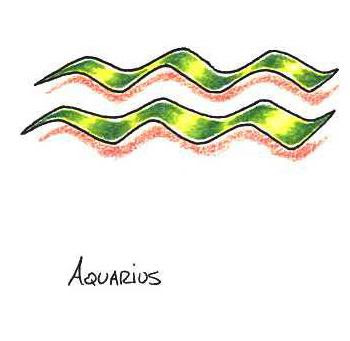 Aquarius tattoo picture