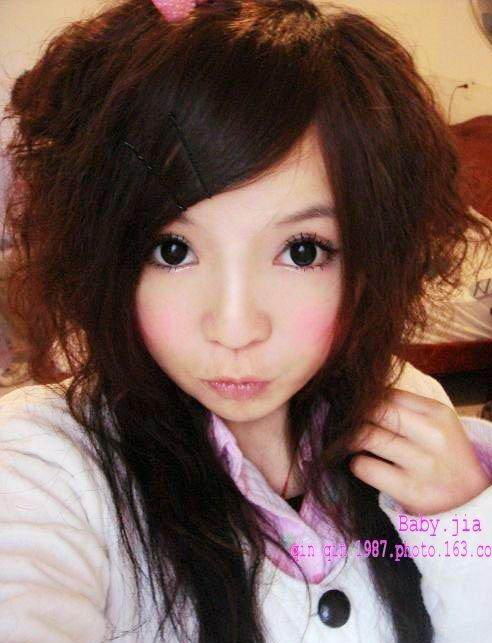 asian model with emo haircuts gallery images