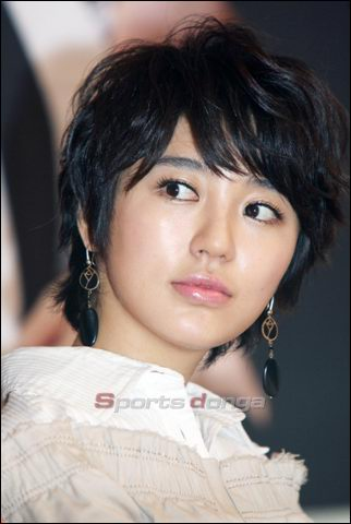 Black Casual Short Haircut for Korean Women