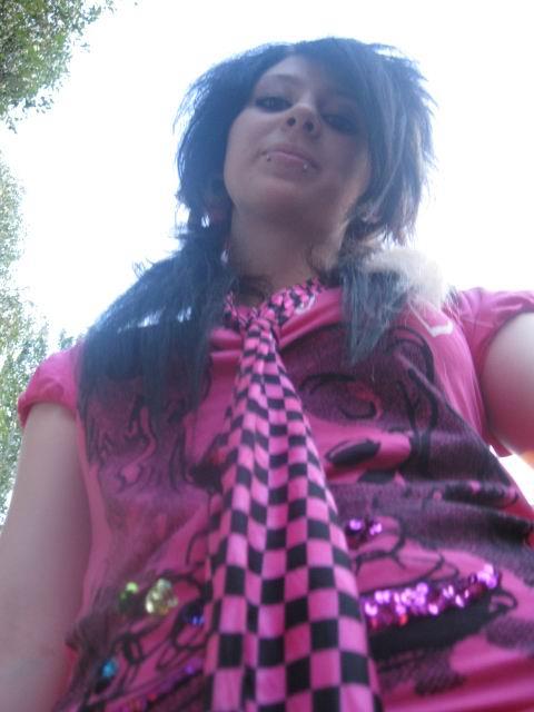 emo scene girls hairstyle