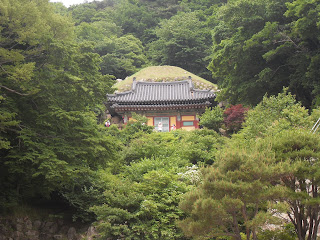 An authentic Korean building