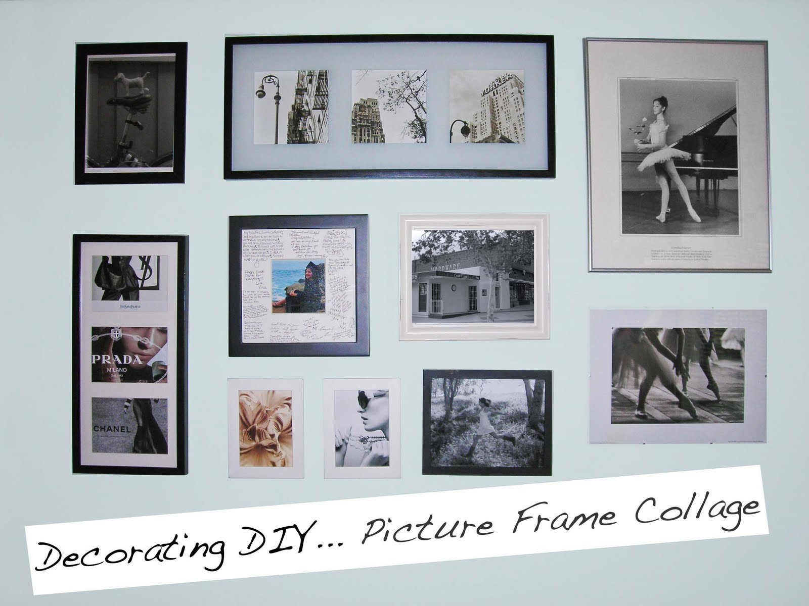 Empty Picture-Frame Wall Grouping : Rooms : Home Garden Television