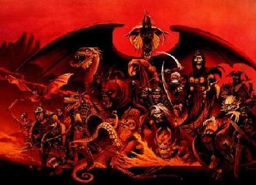 EL HILO DE LOS AMIGUETES XII Demonios