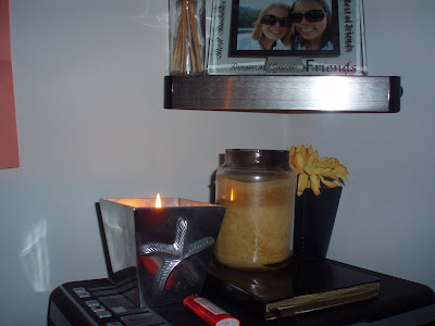 Candle that my boyfriends mom got me for my birthday.
