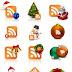 Ícones de Feeds para o Natal