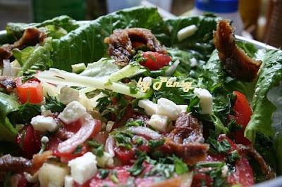 Articole culinare : Salata verde cu anchois