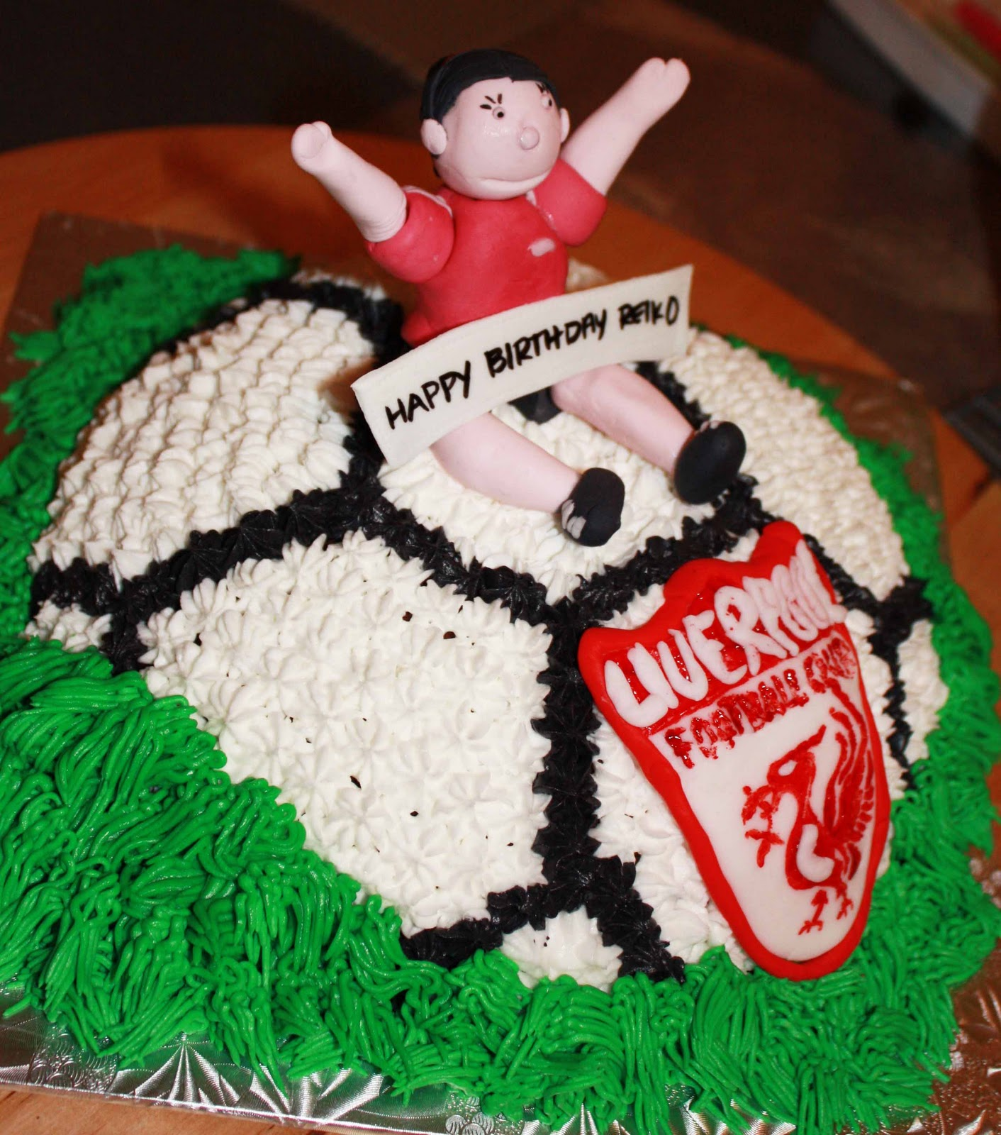 Cup O Cake: Soccer Birthday Cake
