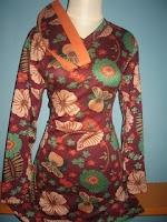 Foto BUSANA MUSLIM TERBARU 2010 Gambar Baju Muslim MOTIF CORAK WARNA Modern Kaya Warna Batik Jadi Trend 2010