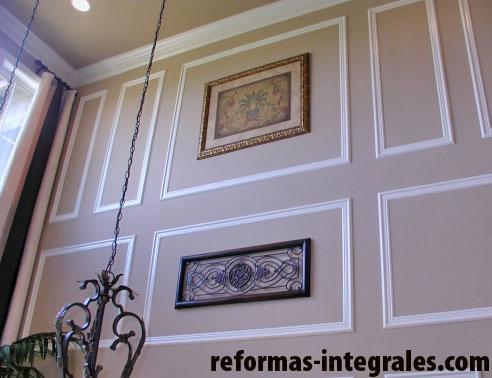 Interiorismo barcelona molduras decorativas de pared - Molduras decorativas pared ...