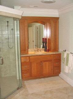 ducha y muebles de baño