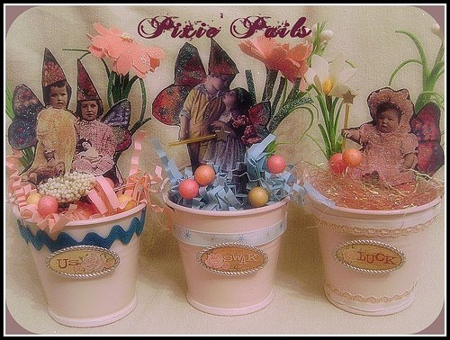 Pixie Pails by: JillzWhimzy