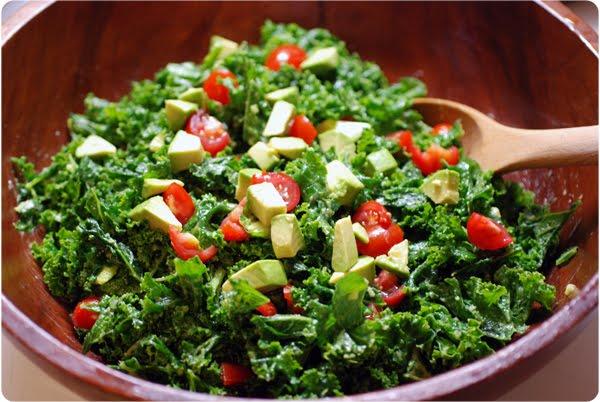 Cara's Culinary Conquest: Kale Salad... Massaged!