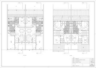 Estudio de delineaci n daniel mateos dos viviendas for Viviendas de dos plantas