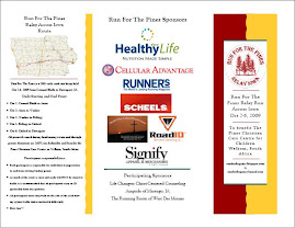 Run For The Pines Brochure/Entry Blank
