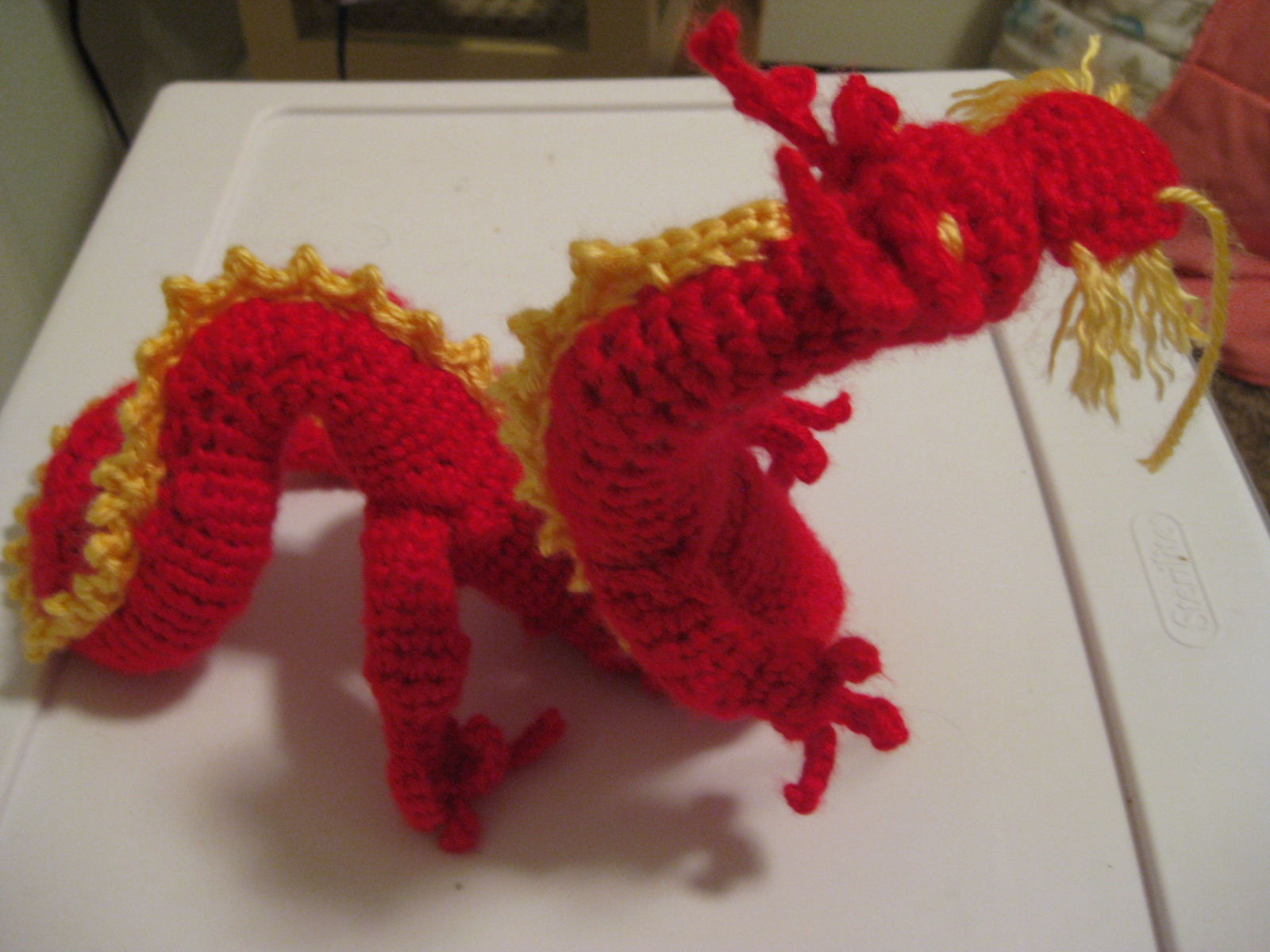 Asian Dragon Amigurumi Pattern Free : Live. Love. Laugh.: Chinese New Year Asian Dragon