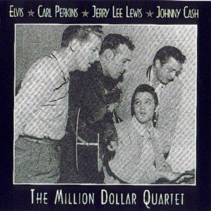 PRESLEY, PERKINS, LEWIS & CASH - The Million Dollar Quartet