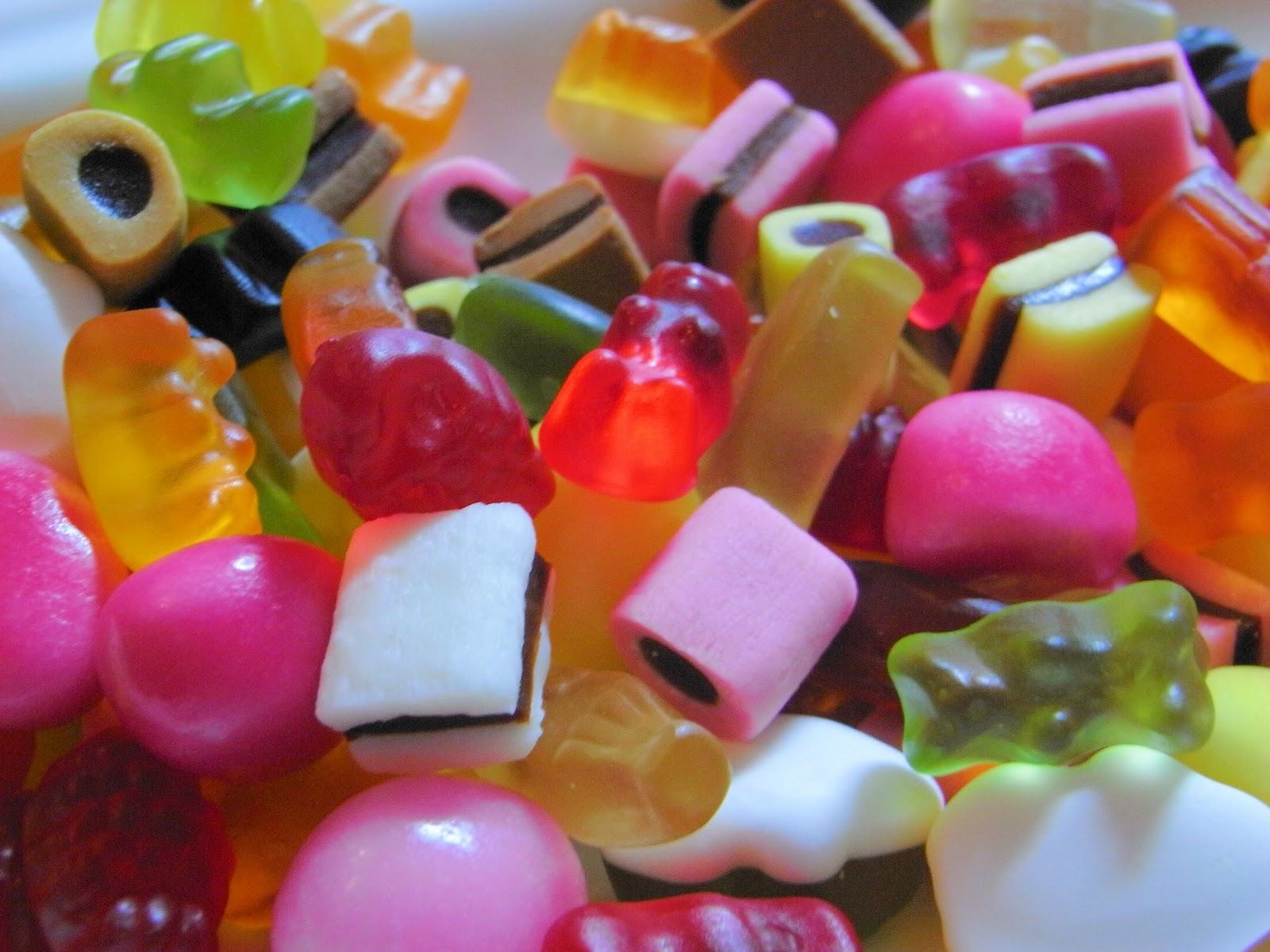 Mini haribo konfekt