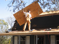 Ward roofing the house