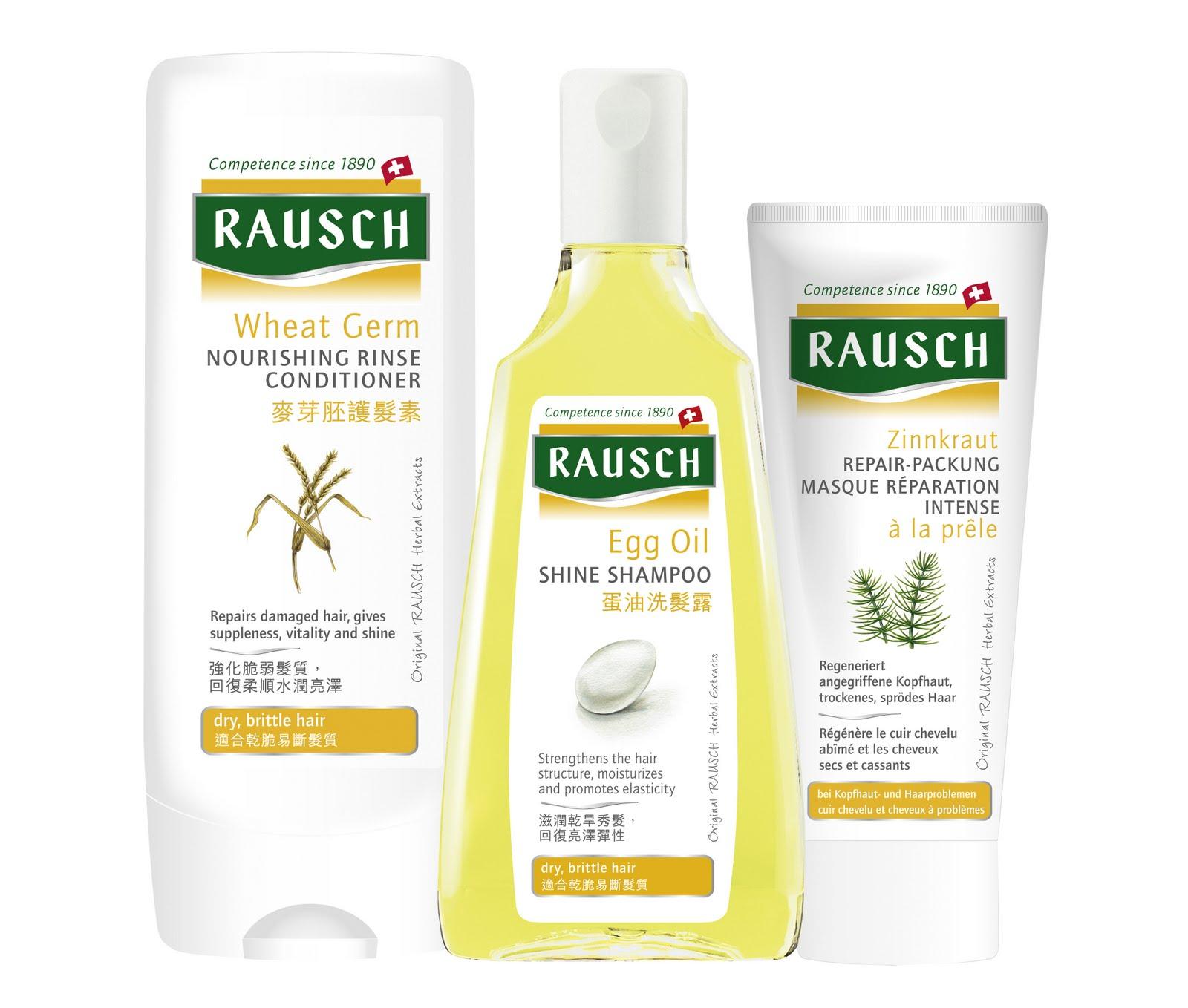 rausch haircare shampoo conditioner