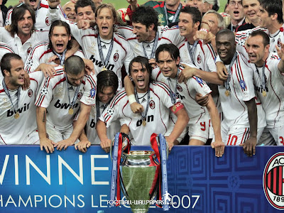 ac milan champions league 2007 winner
