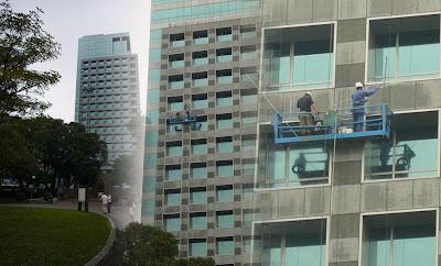 Laveurs de façade