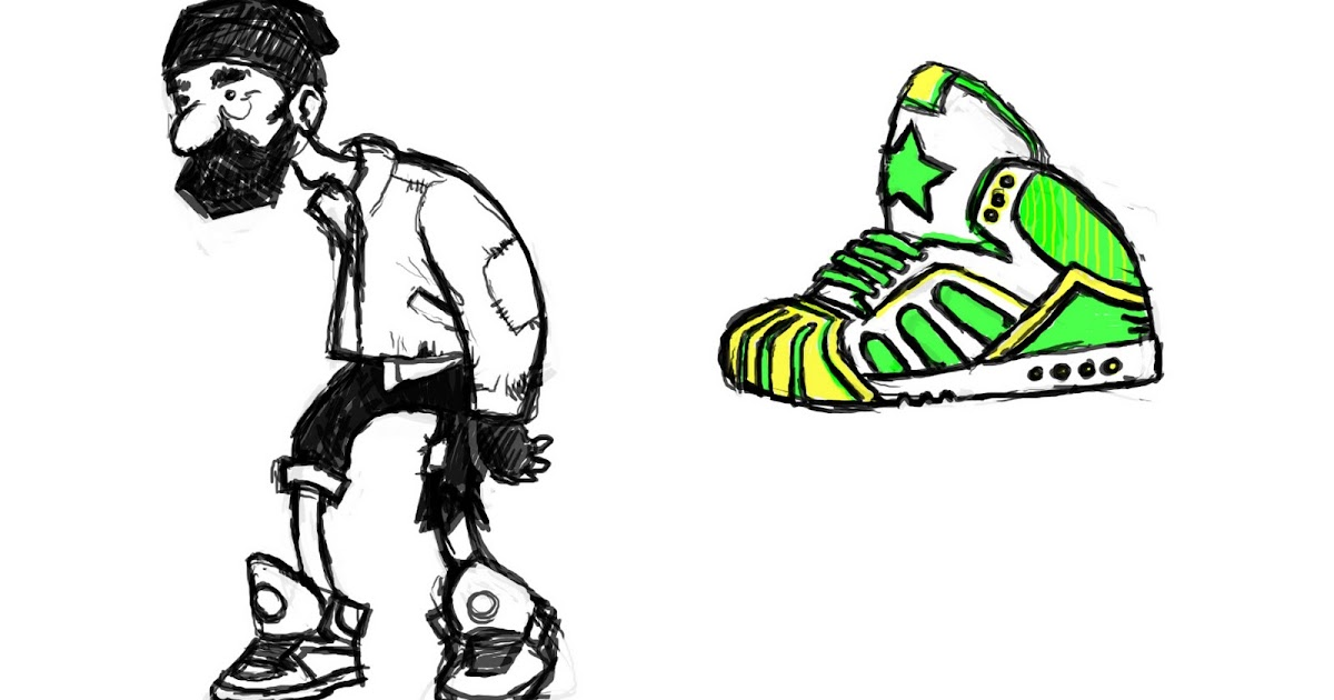 Sketch(Yi) Jean: Hobo Character Design