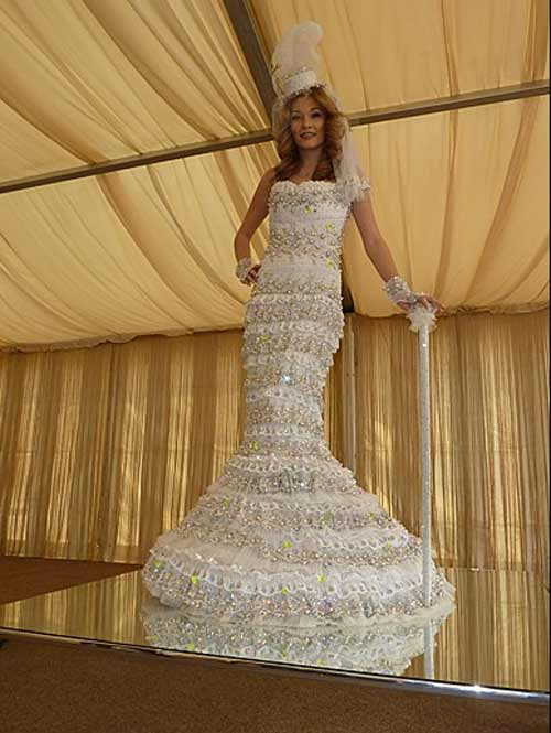 Most Expensive Wedding Dress World Record Set By Cosmina