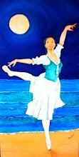 Bailarina en la playa