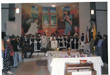 Eucaristía Aniversario Comunal