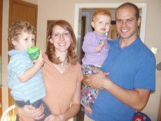 Ben, Alisha, Brigham & Gracie