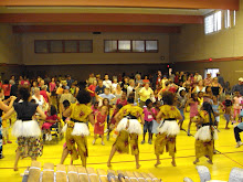 Leading Harambee Campers in the dance CLE.