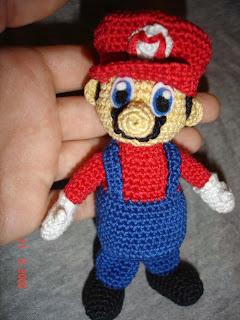Patron Amigurumi Mario Bros En Espanol : Mario Bros AMIGURUMIES