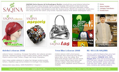 Re-launching SAQINA.COM