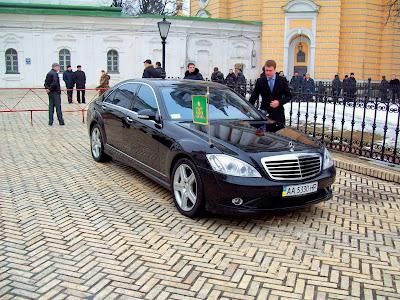 Лимузин Патриарха Кирилла