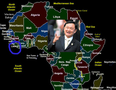 Image result for thaksin shinawatra in Africa