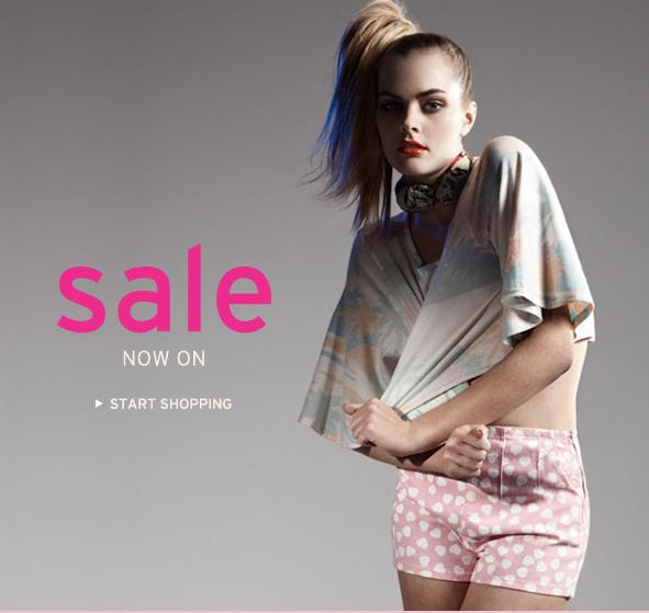 The TopShop Summer Sale is on!