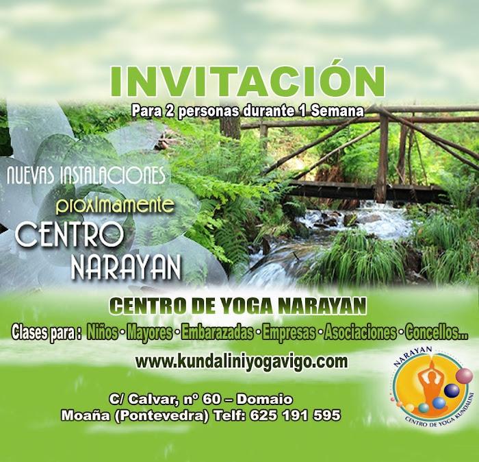 Invitación para 2 personas