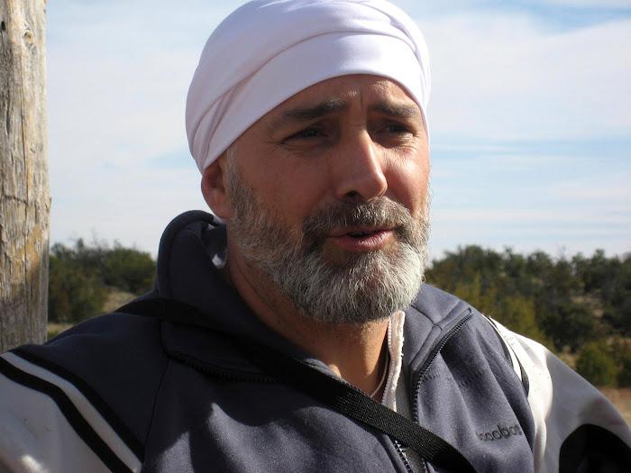 Narayan Singh en Rancho de Yogi Bhajan (USA)