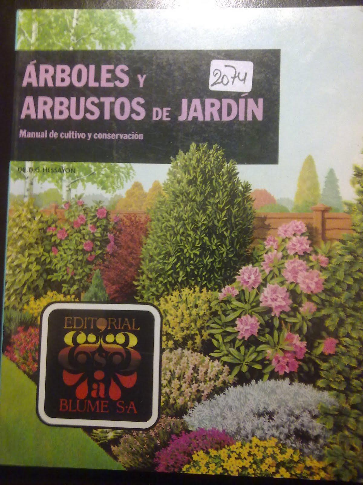 materialparaelnaturalista arboles y arbustos de jard n